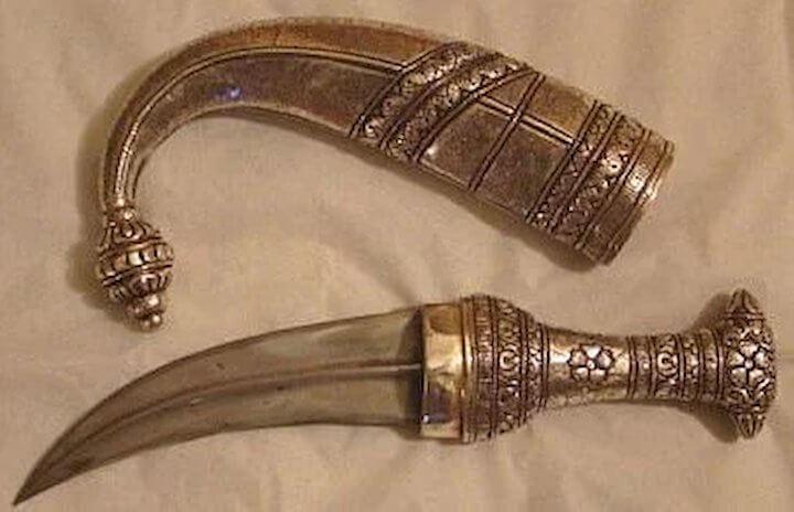 Arabian daggers