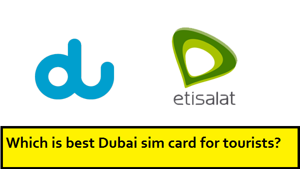 Dubai Sim Card for Tourists