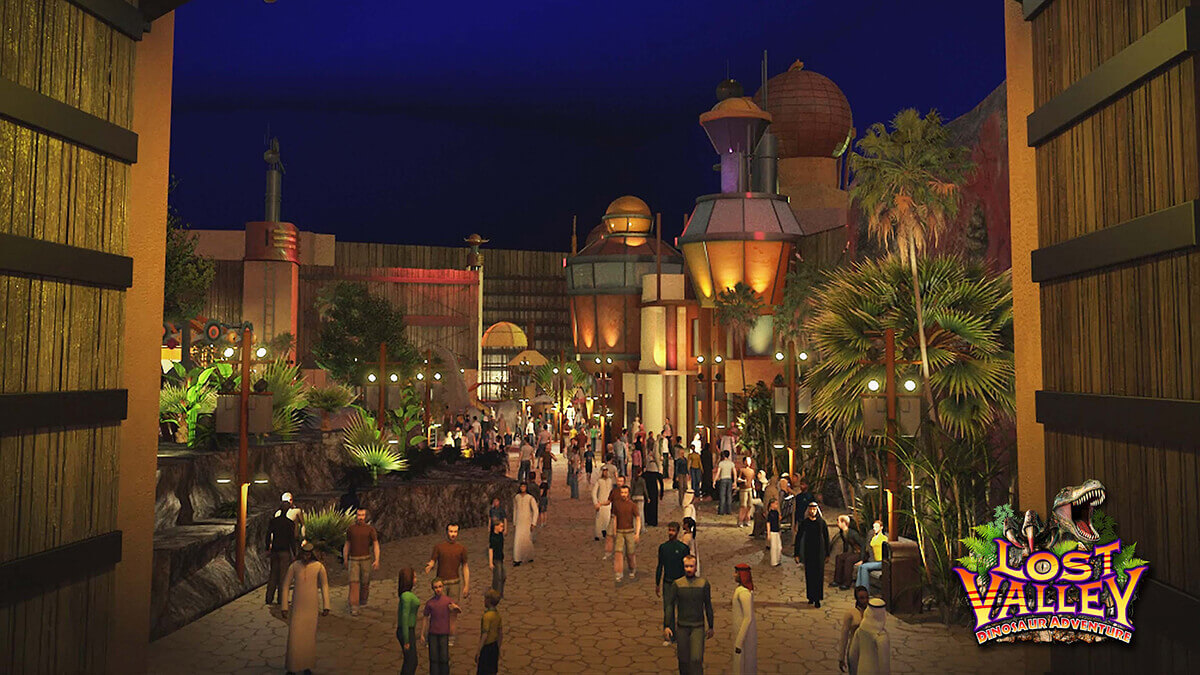 img world of adventure dubai Lost Valley