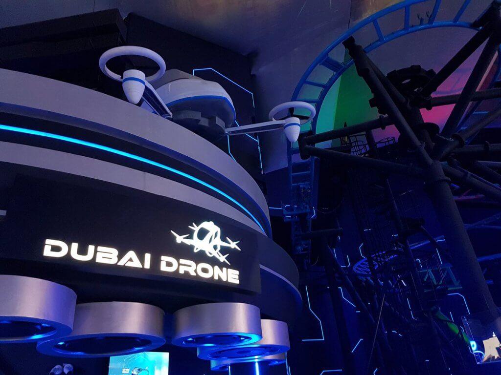 dubai drone vr park