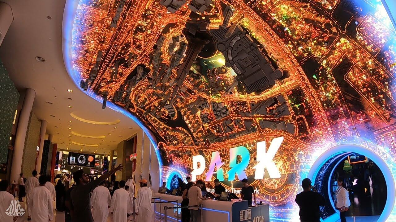 vr park dubai outside